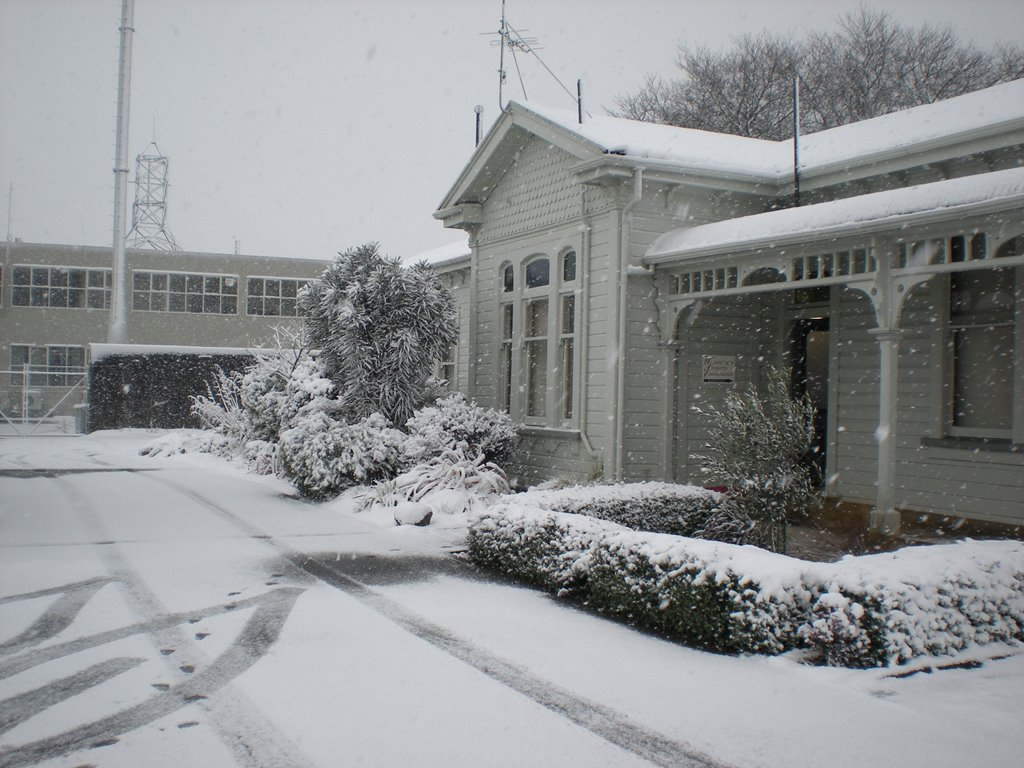Snow Aug 2011 – Office